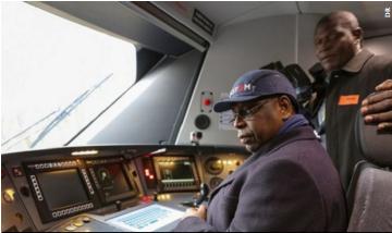 Le TER rend la fierté du Sénégal indépendant