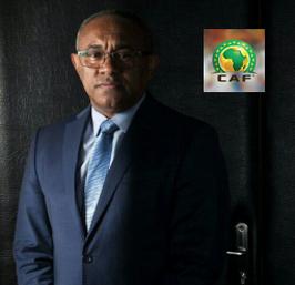 Ahmad Ahmad, élu nouveau président de la CAF