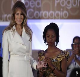 Rebecca Kabugho À 22 ans, la plus jeune femme à recevoir le « prix du courage féminin 2017» aux Etats- Unis.