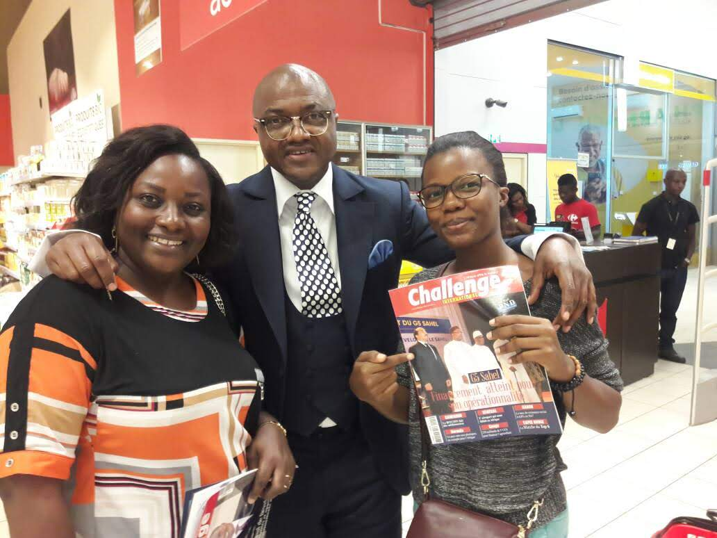 Challenge international en vente  chez votre marchand de journaux