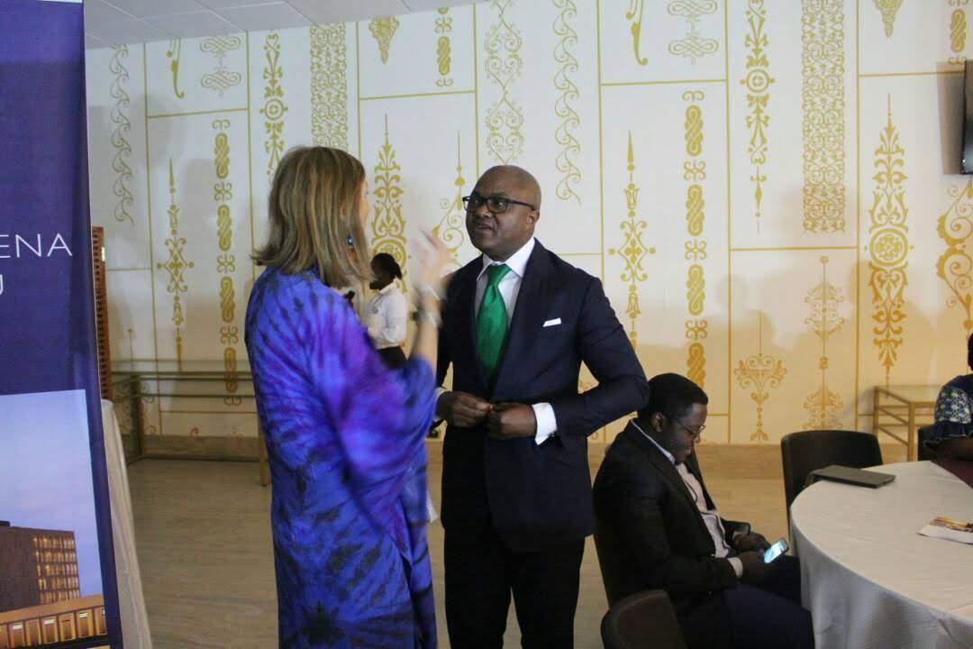 Avec l'Ambassadeur de France au Tchad,S.E Lacoste et sa femme
