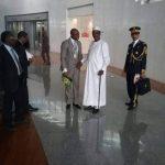 Avec le Président IDRISS DÉBY ITNO du Tchad