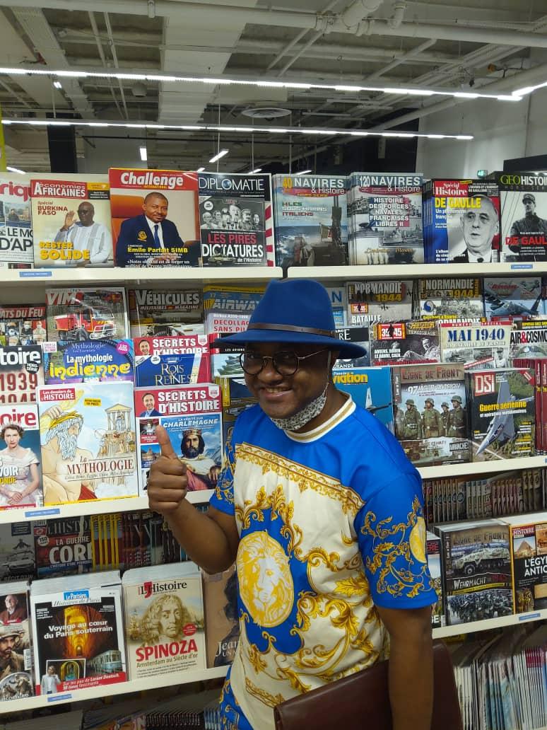 Quel bonheur de  trouver Challenge international en rayonnage kiosque Auchan Velizy France ce matin. Je pense avoir atteint mon objectif.  Merci SEIGNEUR de bénir mon TRAVAIL
