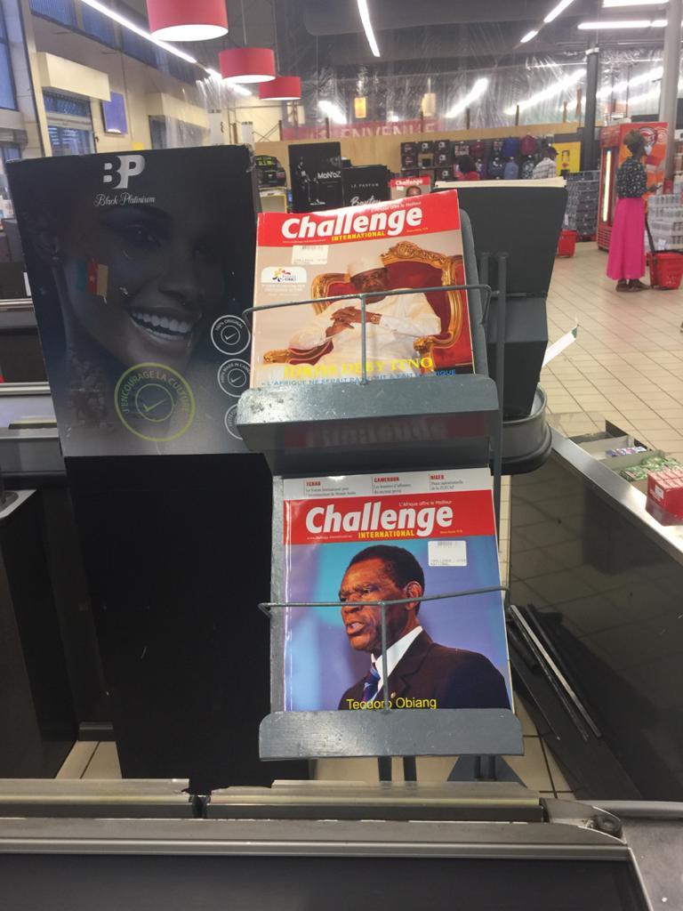 Challenge international au coeur de l 'actualuté mondiale et Africaine. Rdv chez votre buraliste et marchand de journaux habituel.